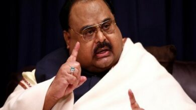 Photo of MQM founder Altaf Hussain arrested in London
