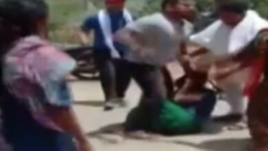 Photo of Punjab: Woman dragged out, thrashed with belt, punched by 'Goons' in broad day light