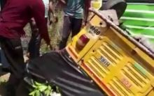 Chittoor: 3 killed after bus rams into auto