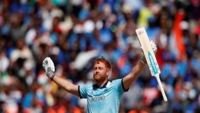 Photo of ICC World Cup: Bairstow, Stokes help England to post 337/7 against India