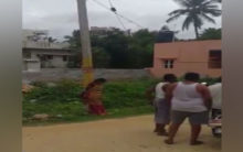 K'taka: Woman tied to pole, harassed; 7 arrested