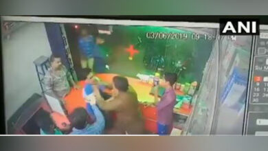 Photo of Bihar BJP minister's brother thrashes chemist for 'not standing up'