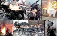 Hyderabad: Nine bikes set ablaze