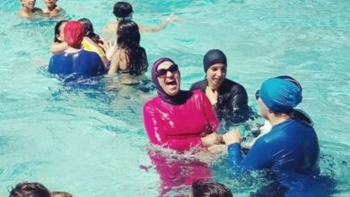 Photo of France: Two swimming pools close down when women in burkini came for swimming