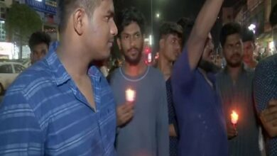Photo of Hyderabad: Candle march organised to condemn rape and death of 9-month-old girl