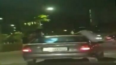 Photo of Mumbai: 3 held for performing stunts in moving car