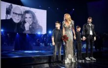 Celine Dion pays tribute to late husband at final Vegas Residency show