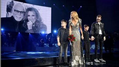 Photo of Celine Dion pays tribute to late husband at final Vegas Residency show