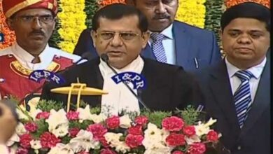 Photo of Governor administers oath of office to RS Chauhan as CJ