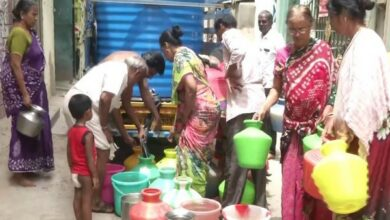 Photo of Chennai facing acute water scarcity; next could be Hyderabad