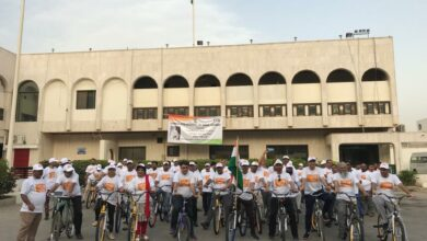Photo of Saudi Arabia: Consul General Md. Noor Rahman Sheikh flags off Gandhi Cycle Rally for Peace