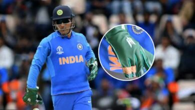 Photo of Can't allow Army insignia on Dhoni's gloves, ICC tells BCCI