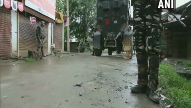 Photo of Sopore encounter: Body of 1 terrorist retrieved by security forces