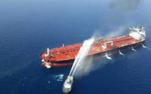 Iran summons UK envoy over 'unacceptable' attack claims on Gulf tankers