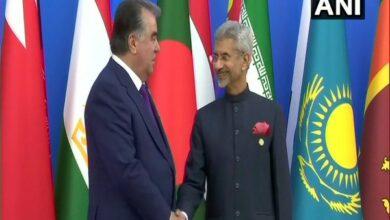 Photo of CICA Summit: EAM Jaishankar meets Tajikistan President