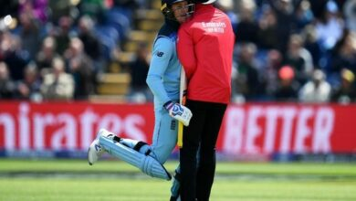 Photo of Here's how Jason Roy celebrated his maiden WC ton