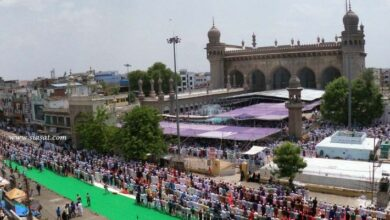Photo of Jum'at-ul-vida observed with religious fervour in twin cities of Hyderabad & Secunderabad