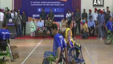 Photo of Maharashtra wins men's and women's title in National Wheelchair Basketball Championship