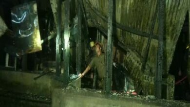 Photo of Kolkata: Fire breaks out a guesthouse in Lenin Sarani Road