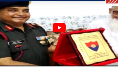 Photo of Major General visits Darul Uloom, Deoband; urges students to join forces