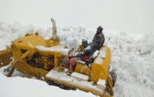 Himachal: Manali-Sarchu road opened for civil traffic