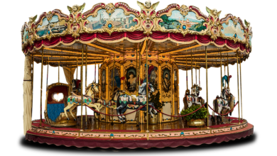 Photo of 14 children among 40 rescued from tall merry-go-round in Ahmedabad