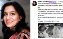 Woman IAS officer says Gandhi has become irrelevant, calls for removal of his statues; Guha defends Father of the Nation