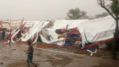 Photo of Rajasthan: 11 dead, many injured as tent collapses during religious gathering
