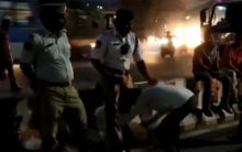 Hyderabad: Video of petty trader touching feet of traffic policeman goes viral