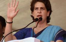 Has UP government surrendered before criminals: Priyanka