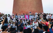 UP: Protest held against 'Mob lynching'