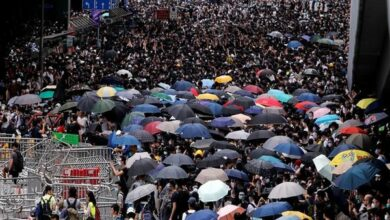 Photo of Hong Kong: 5,000 personnel deployed as anti-extradition bill protests intensify