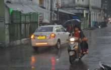 Moderate rain is likely to occur at many places of Telangana