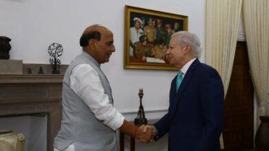 Photo of US Ambassador to India meets Rajnath Singh