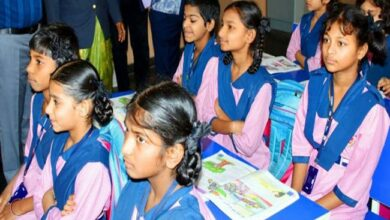 Photo of Vikarabad Collector hailed for choosing TMR school for her daughter