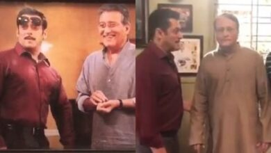 Photo of Vinod Khanna's brother Pramod roped in to play Salman's father in 'Dabangg 3'