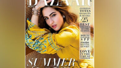 Photo of Sara Ali Khan looks refreshing in mustard yellow on Harper Bazaar cover