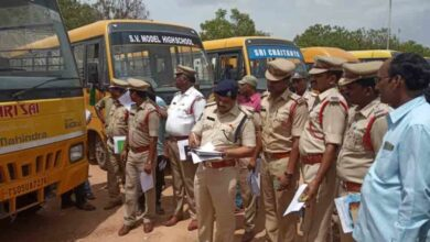 Photo of Traffic police, RTA continues their special drive against school buses