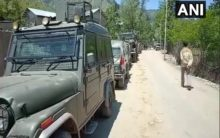 One terrorist killed in encounter with security forces in Anantnag