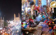Shopping spree at Charminar