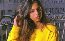 Suhana Khan rocks oversized sweatshirt