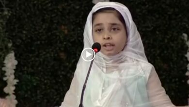 Photo of Motivational speech on Namaz by a small girl