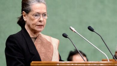 Photo of Sonia Gandhi to address Congress MPs on Tuesday