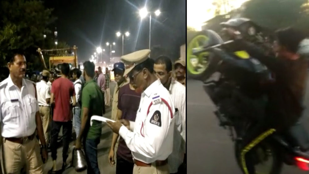 Siasat Impact: Traffic Police special drive in Old city against Minor driving