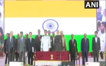 25 MLAs take oath as ministers in Jagan's Cabinet
