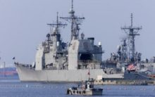US, Russian warships 'nearly collide' in Pacific