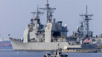 Photo of US, Russian warships 'nearly collide' in Pacific