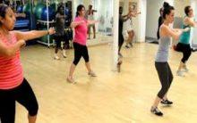 Upbeat music makes rigorous workout seem easier