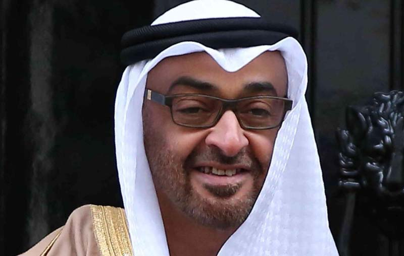 Abu Dhabi Crown Prince to visit China