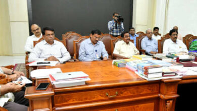Photo of KCR Held a High-Level Review Meeting